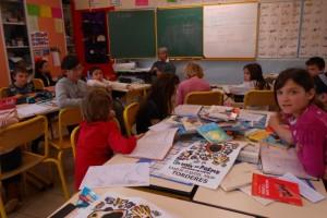 Un bouquet de poésies pour les écoliers de Tordères dans Affaires sociales printemps-des-poetes-a-lecole-300x200