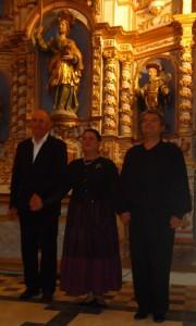 Sous la voûte du choeur dans Eglise arioso-180x300
