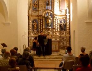 Une première : de la danse classique à Tordères! dans Eglise aymeric-gracia-et-elodie-chech-300x233