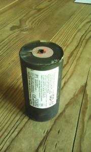 Grenade retrouvée A243